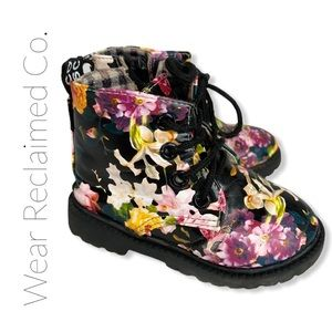 FREE WITH $30 PURCHASE: Floral Toddler Boots